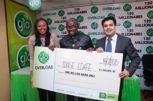 Globacom: How 20 millionaires emerged in Overloaded promo 7