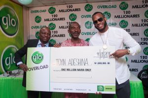 Globacom: How 20 millionaires emerged in Overloaded promo 3