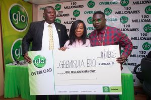 Globacom: How 20 millionaires emerged in Overloaded promo 6