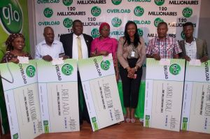 Globacom: How 20 millionaires emerged in Overloaded promo 14