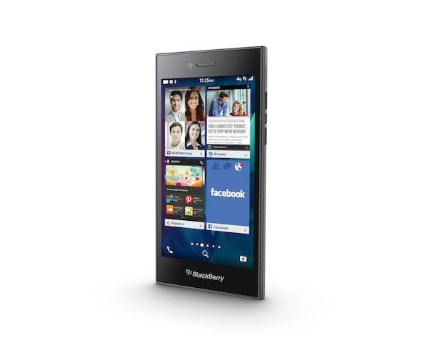 The new BlackBerry Leap