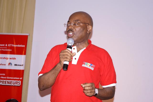 Jim Ovia, Chairman of Visafone Communications Limited