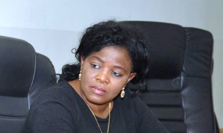 Mrs. Iyabo Sholanke, Director, Special Duties in NCC and Chairperson of Task Force on Quality of Service