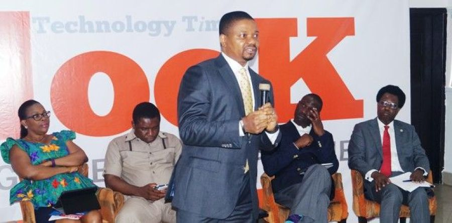 Basil Udotai, who delivered the thought leadership keynote presentation Friday at Technology Times Outlook Review of the Nigeria Cybercrimes Act 2015.