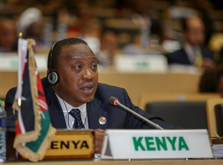 Uhuru Kenyatta, President of the Republic of Kenya