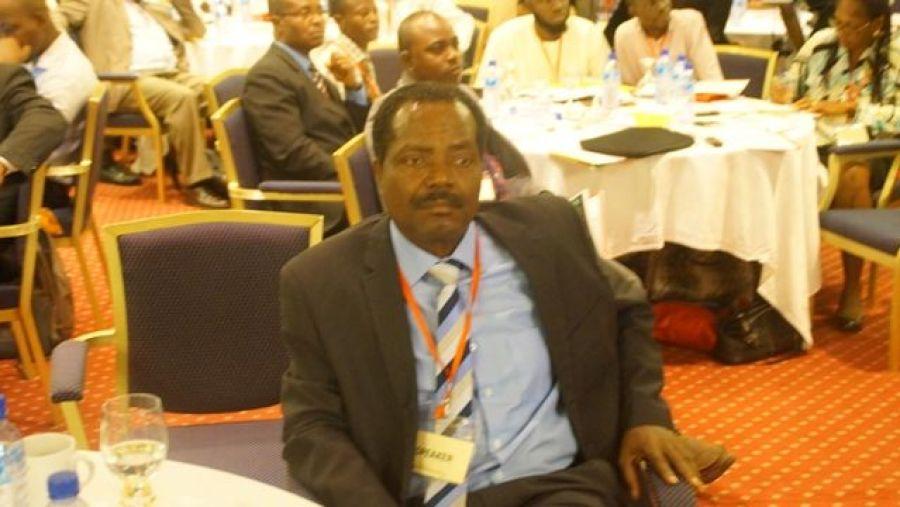Engineer Lanre Ajayi at WACC 2015 in Lagos