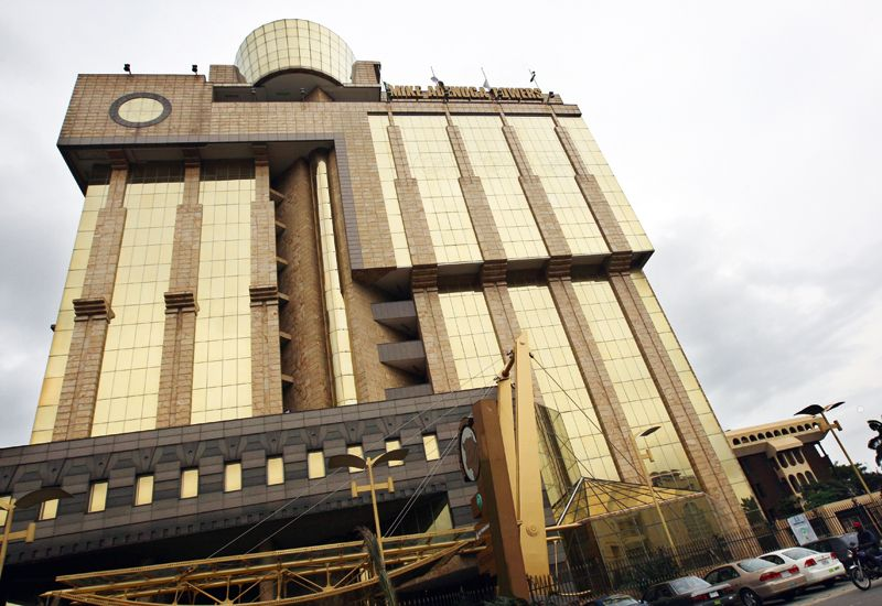 Globacom headquarters in Lagos