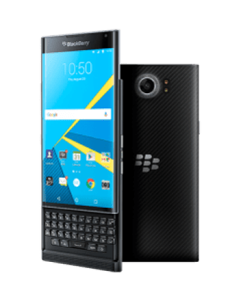 Image of BlackBerry PRIV showing its rear camera