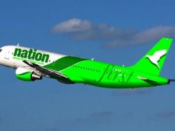 First Nation aeroplane