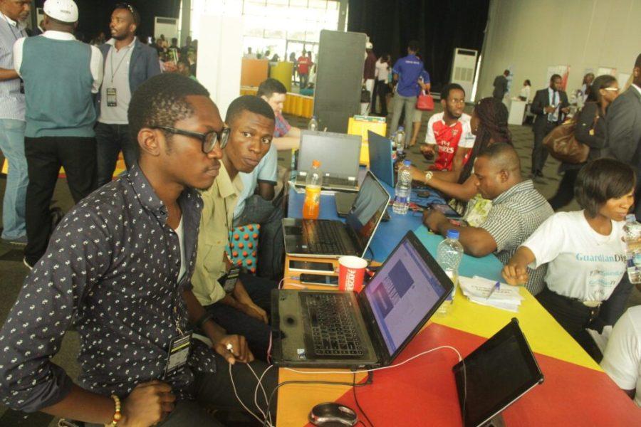 A cross section of activities at 2016 Social Media Week Lagos