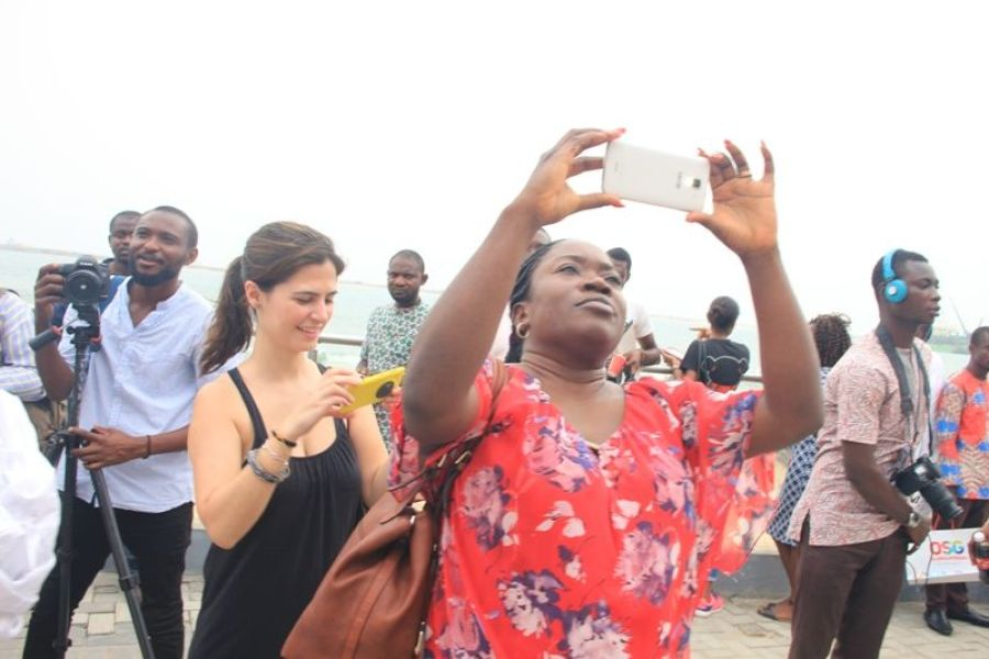 Cross section of 2016 Social Media Week Lagos