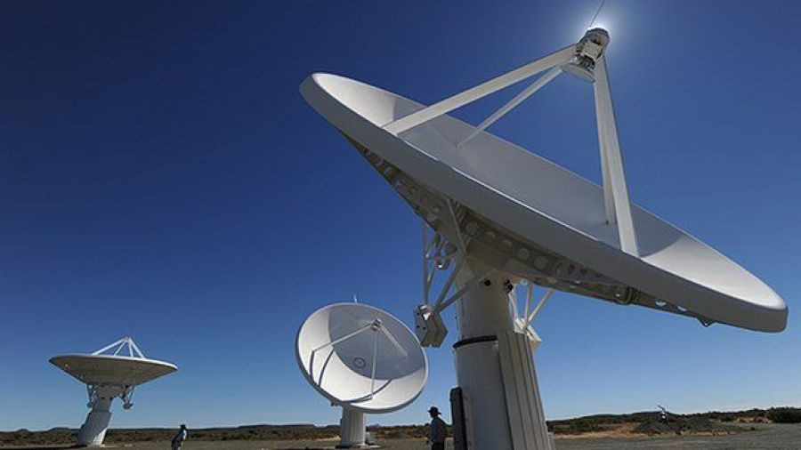 Satellites transmitting digital TV signals