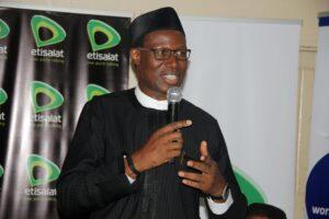 Gbenga-Adebayo, Chairman-ALTON speaks at the event