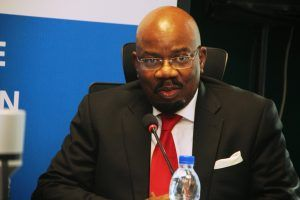 Mr Jim Ovia, Chairman Zenith Bank and owner of Civic Towers housing the new office of Microsoft Nigeria