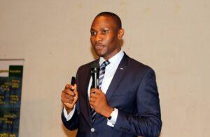 Pascal Dike President JCI at the event