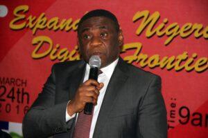 Mr Tony Ojobo Director Public Affair NCC, representing Prof Danbatta at the event