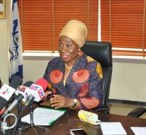 Mrs Dupe Atoki, Director General of the Consumer Protection Council (CPC)