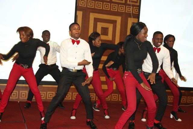 A youth dance group entertains at the NIRA .ng Web Awards 2016 held recently in Lagos
