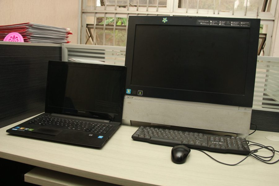 Display of different PCs