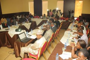 Cross section of Journalist at the interactive session