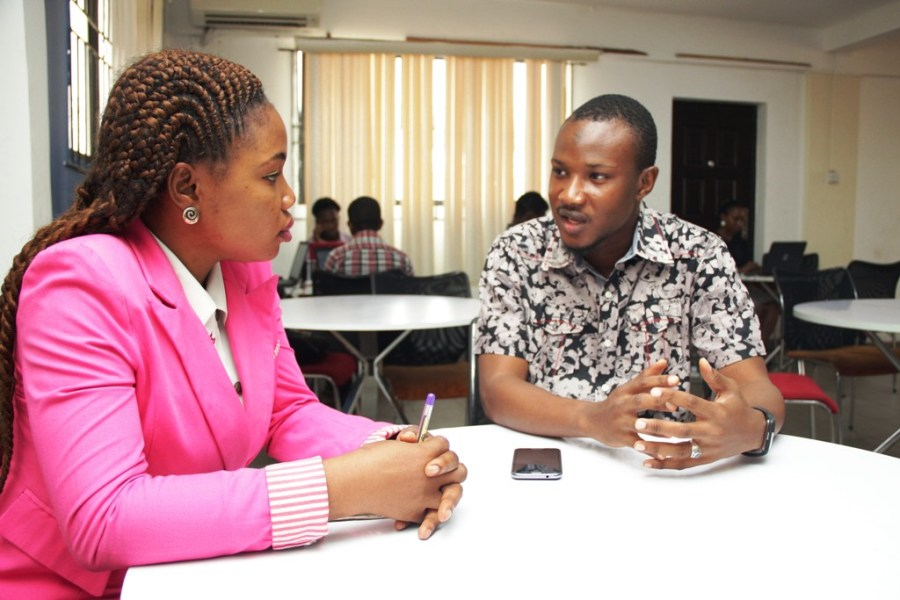 "If internet had been provided for me when I was in school, I would have been doing better than what am doing now""Mr Ahmad told Elizabeth Edozie of Technology Times in an exclusive interview at the iDEA Hub, Lagos"