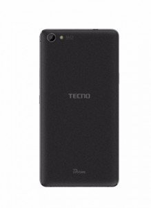 Back View of Tecno Boom J8