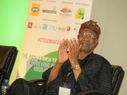 Alhaji Lai Mohammed, Minister of Information & Culture at the Digital Broadcasting Africa Forum 2016