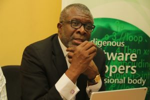 Pius Okigbo, immediate Past president of ISPON