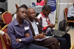 Some participants at the event