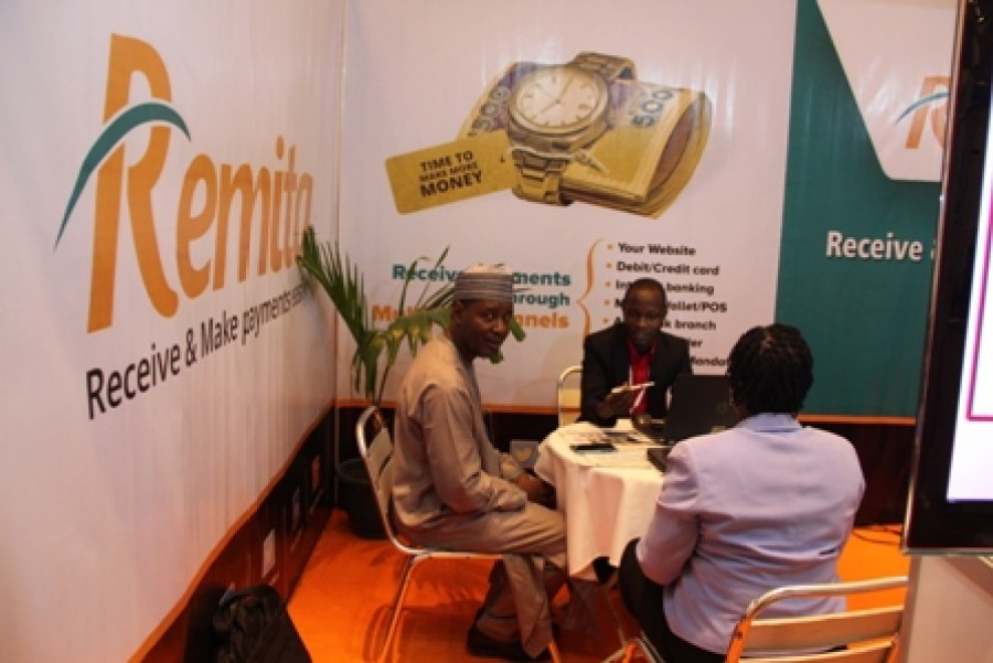 Exhibitor stand at the 2016 CBN Cashless card expo (6)