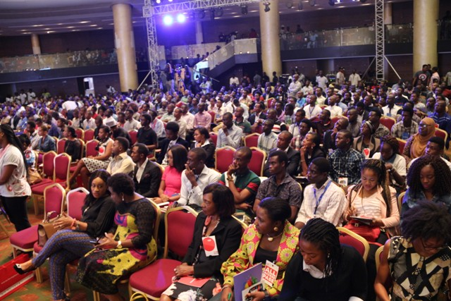 Cross section of attendees at the plenary session of #TechPlus2016 in Lagos