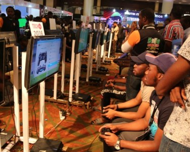 Connected generation: Cross section of participants at the #TechPlus2016 gaming event held at the Eko Hotel and Suites in Lagos