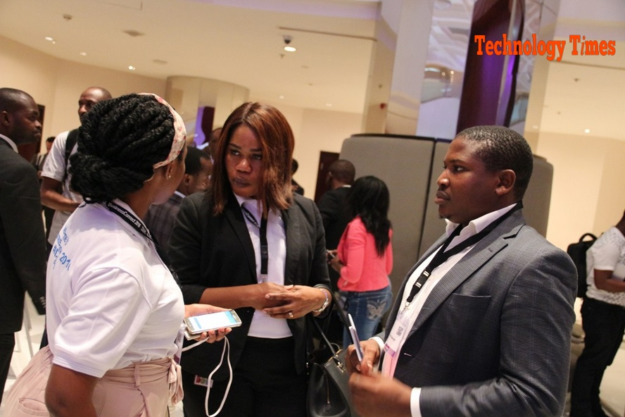Networking session at the event