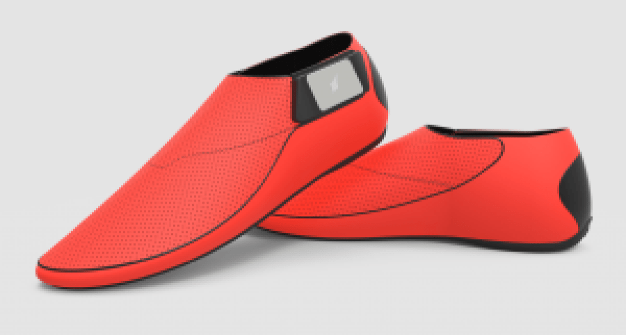 Lechal Haptic smart shoe footwear