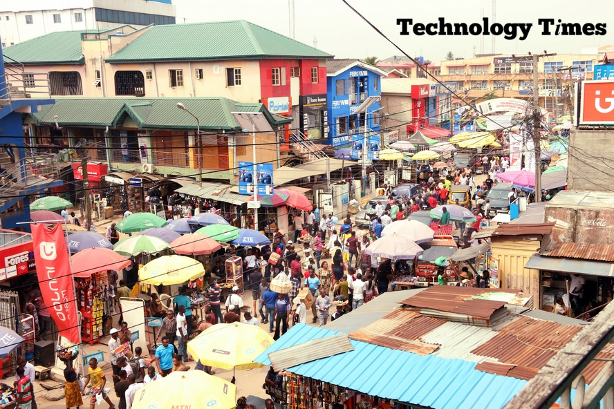 Computer Village Ikeja | Security beefed up at largest tech market in Nigeria 1