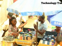 Technology Times file photo shows commercial activities at Computer Village Ikeja, the largest technology market cluster in Nigeria