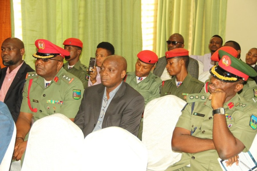 Cross section of participants at the National Cyber Security Awareness Month Conference (NASCAM) held in Lagos