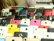Technology Times photo shows Chinese phones and others phone brands seen on display at Computer Village in Ikeja, Lagos