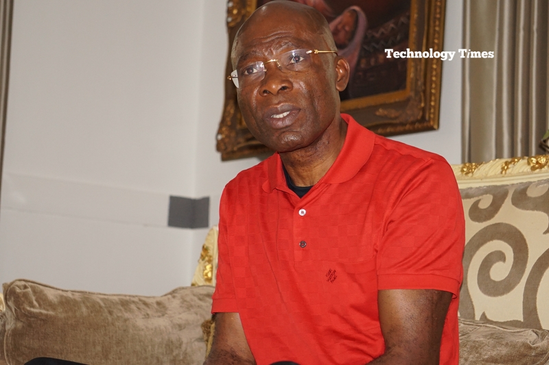 Leo Stan Ekeh, Chairman of Zinox Technologies Limited of Nigeria