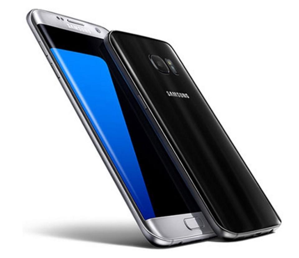 Photo shows the Samsung Galaxy S7