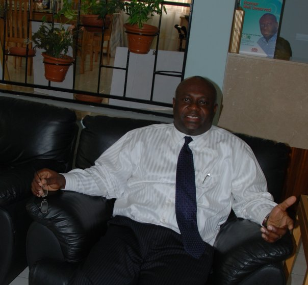File photo shows Chima Onyekwere, Linkserve Founder/Chairman of Linkserve Limited.