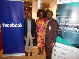 Tolu Ogunlesi, Akua Gyeke (Facebook), 'Gbenga Sesan (Paradigm Initiative)