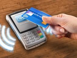 Lagos transit payment system taps contactless card