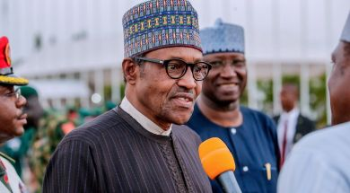 """President Muhammad Buhari. The Federal Government expects to """"reduce corruption to the bareset minimum"""" with the launch of the Nigeria e-Government Master Plan 2020."""