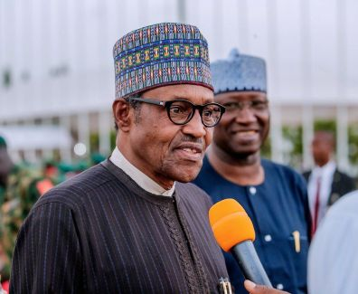"President Muhammad Buhari. The Federal Government expects to ""reduce corruption to the bareset minimum"" with the launch of the Nigeria e-Government Master Plan 2020."