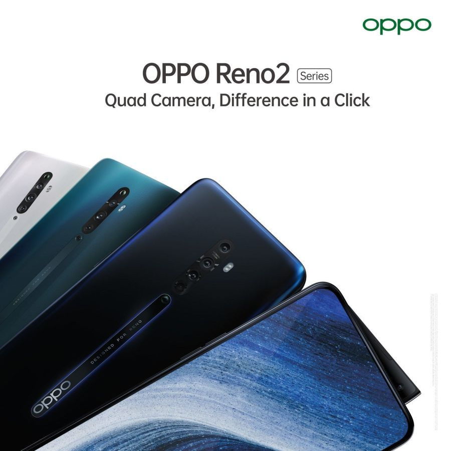 OPPO Reno2 smartphones target mobile photography lovers