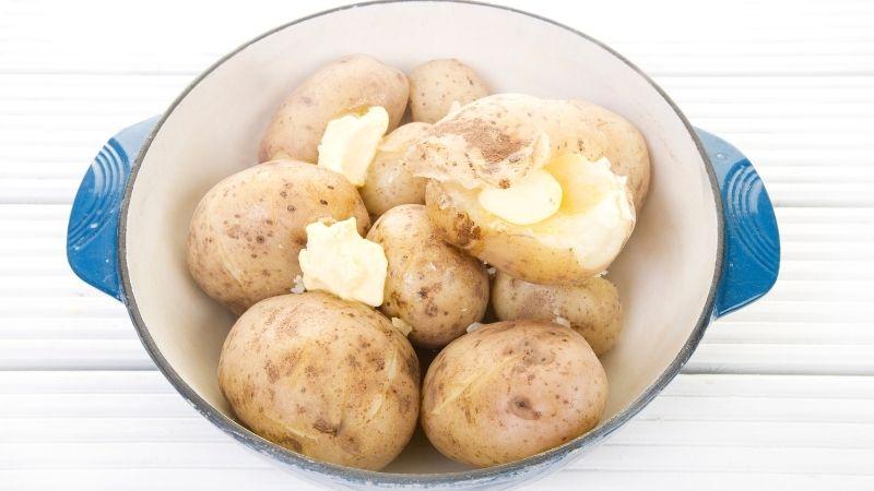 gotowane ziemniaki