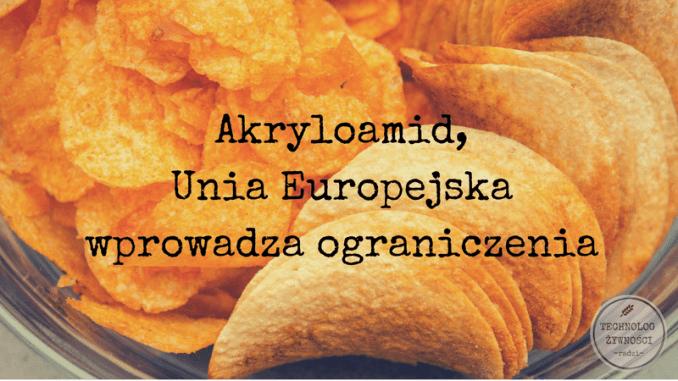 akryloamid chipsy frytki akrylamid
