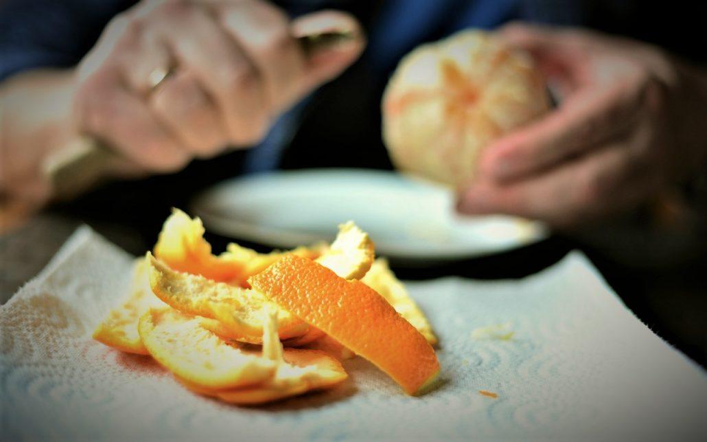 skórka pomarańczowa jest zdrowa