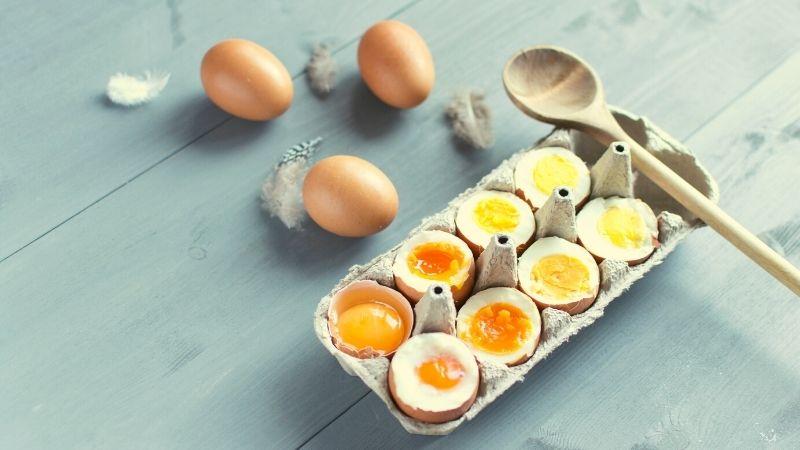jajka na twardo ile gotować